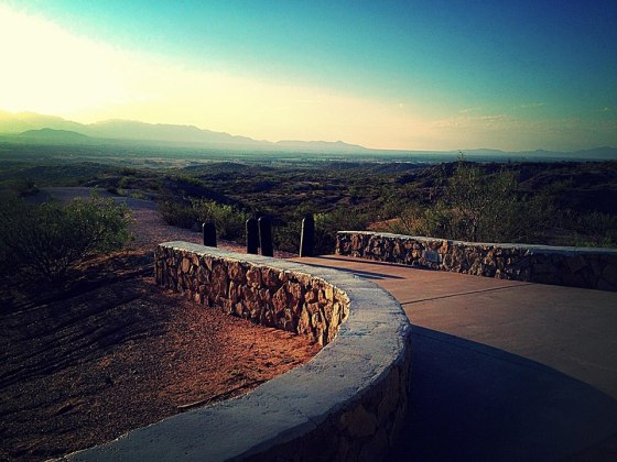 rest stop in las cruces july 2014